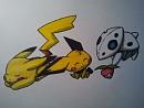 Pikachu,Pichu und Stulunior