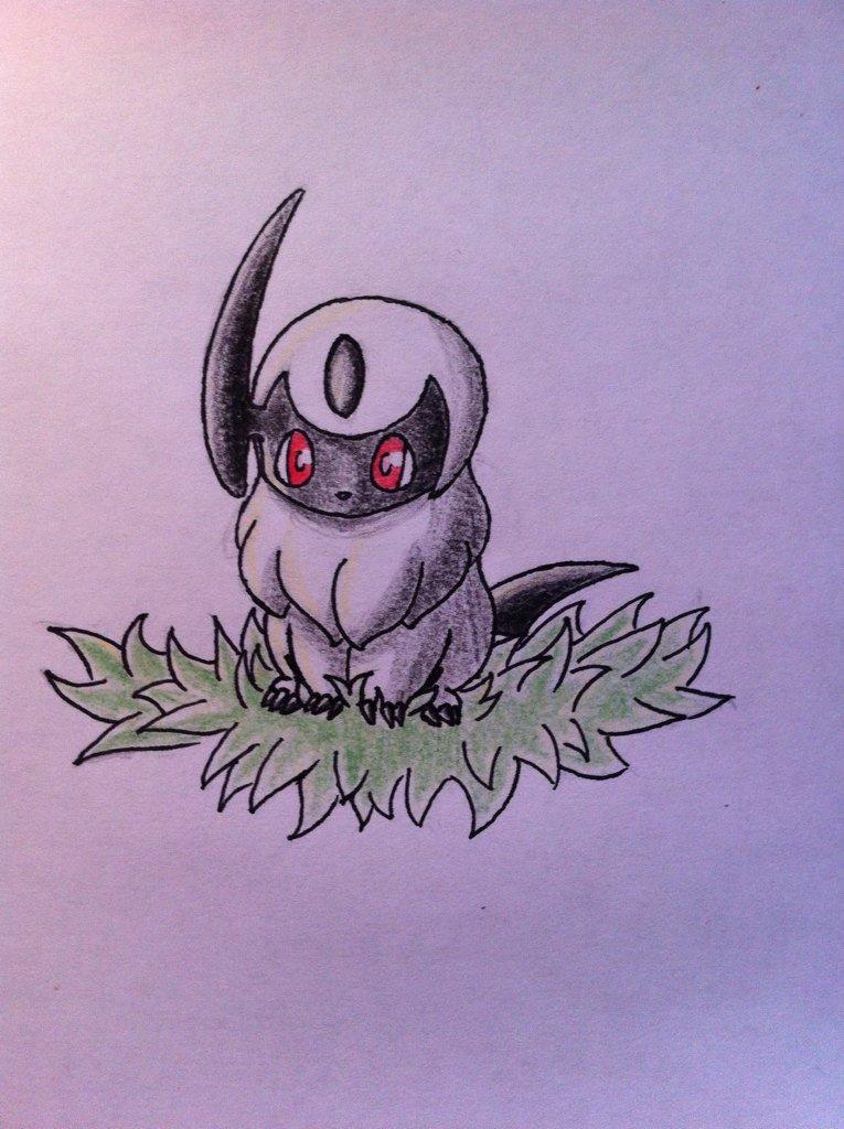 Pokémon-Zeichnung: Knuddel mich