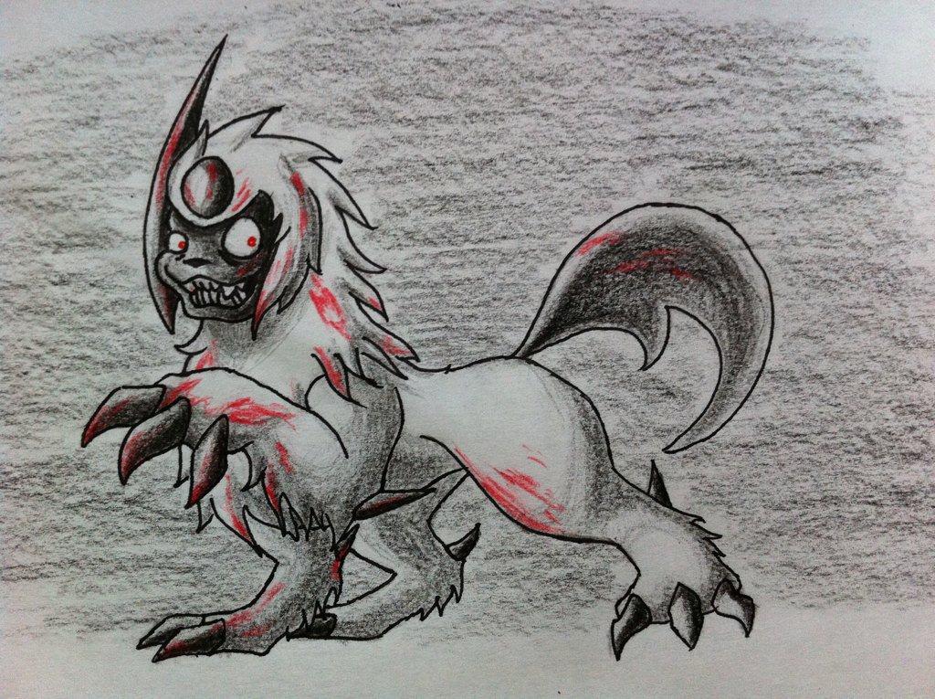 Pokémon-Zeichnung: Psychosol