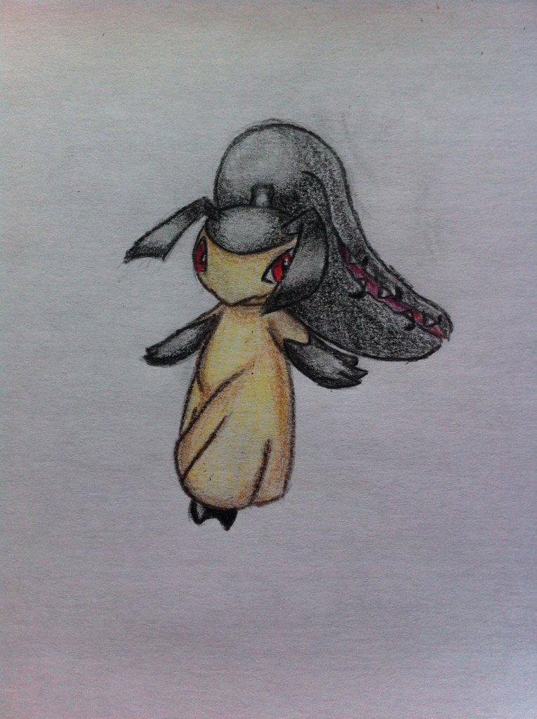 Pokémon-Zeichnung: Flunkifer