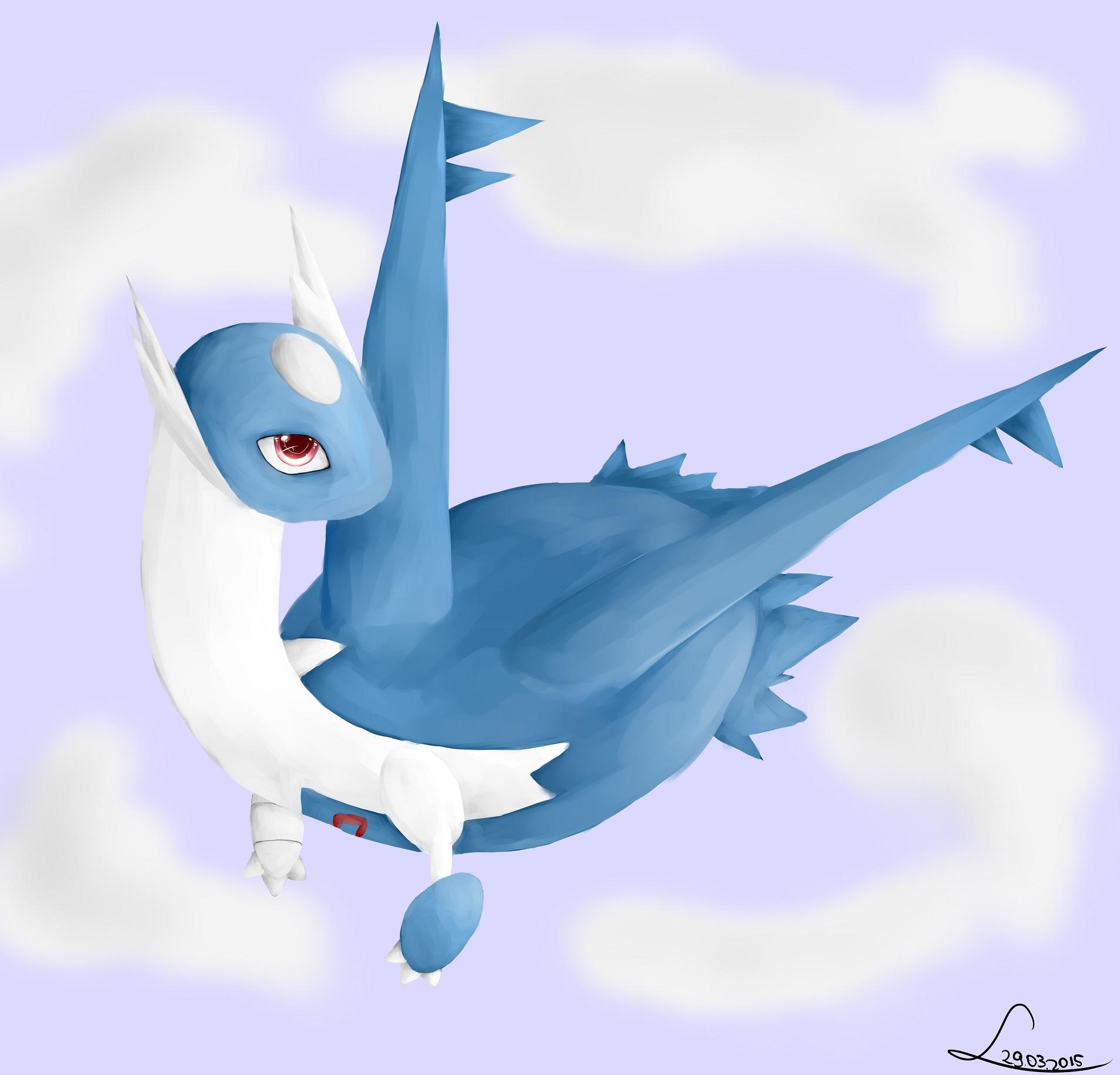 Pokémon-Zeichnung: Latios