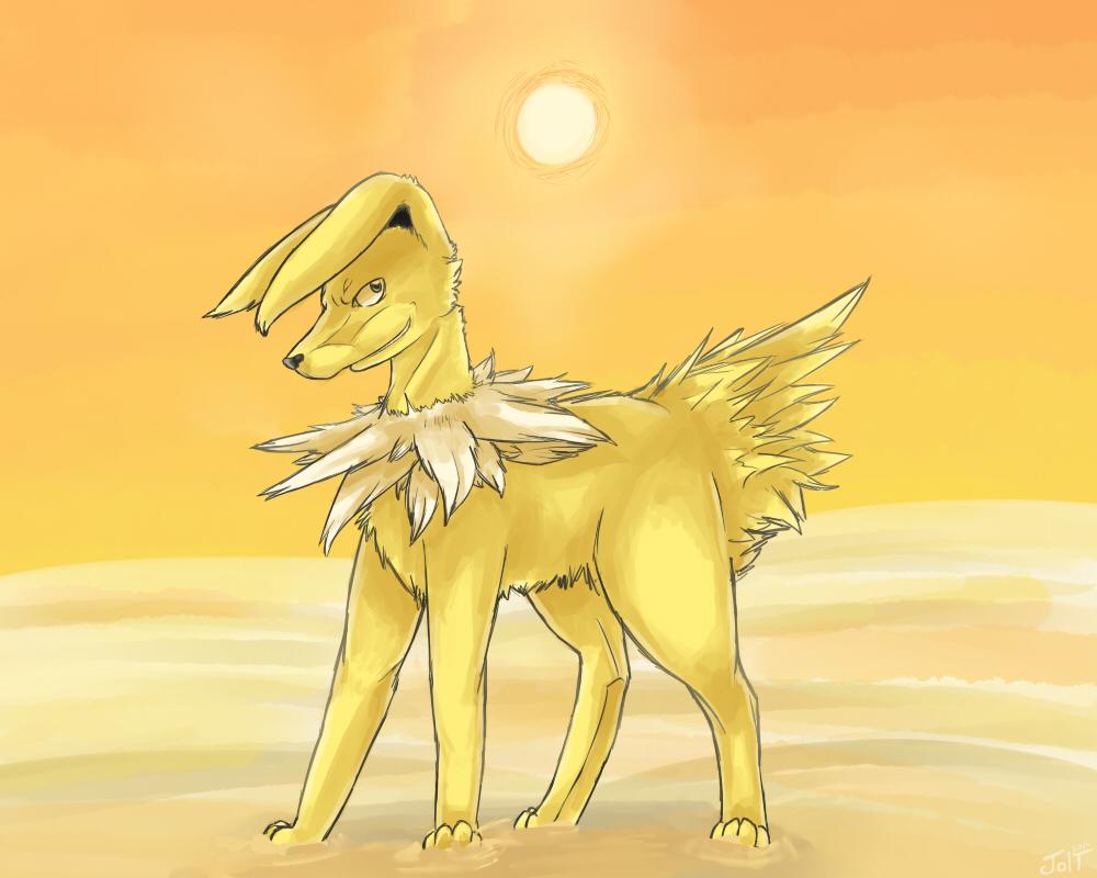 Pokémon-Zeichnung: Jolteon! <3