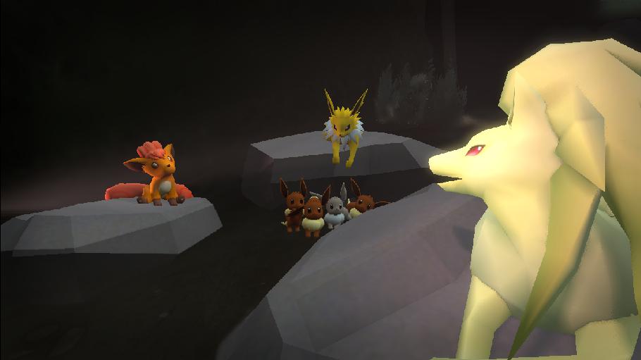 Pokémon-Fanart: Storytime with Ninetales