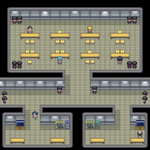 Pokémon-Map: Gefängnis