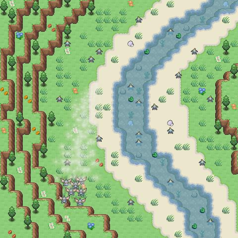 Pokémon-Map: Mapping Anfänger-Wettbewerb #6 - Aufgabe 1: Lebensraum gesucht