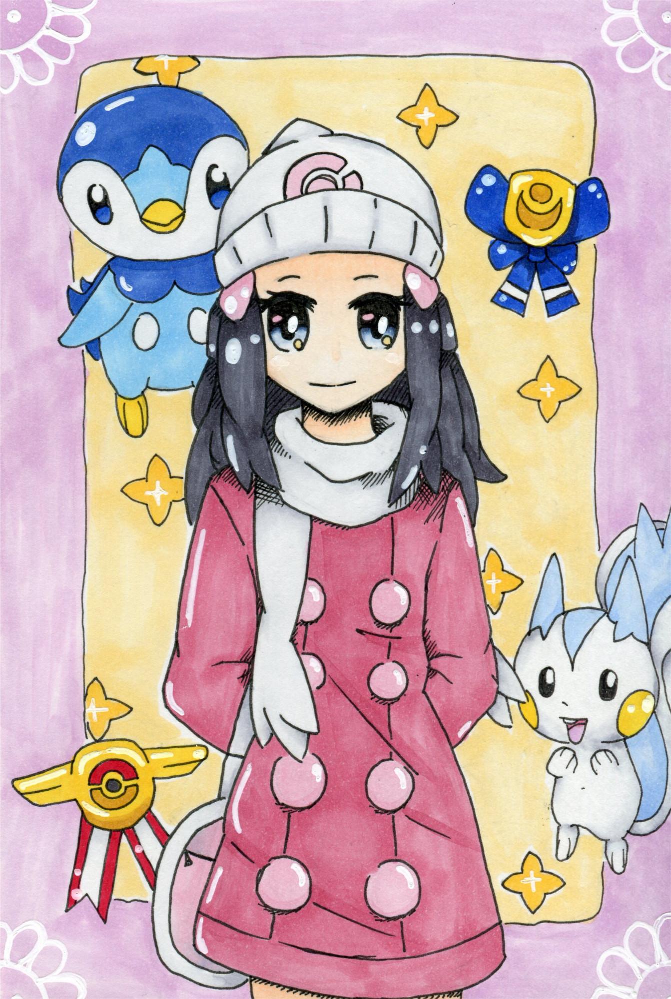 Pokémon-Zeichnung: Lucia