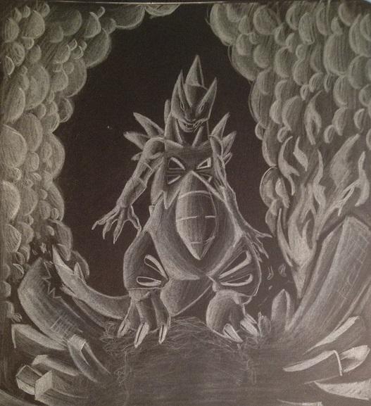 Pokémon-Zeichnung: Goojira *episch-japanisch*