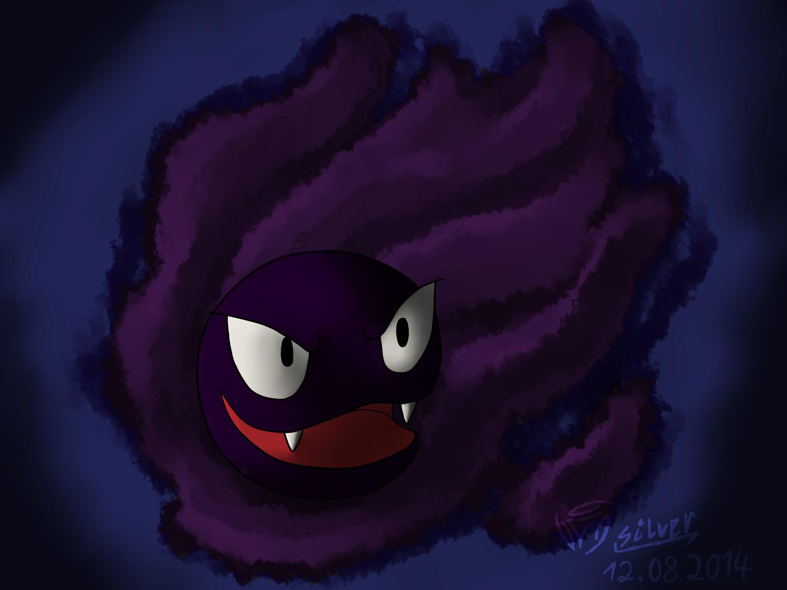 Pokémon-Zeichnung: Nebulak