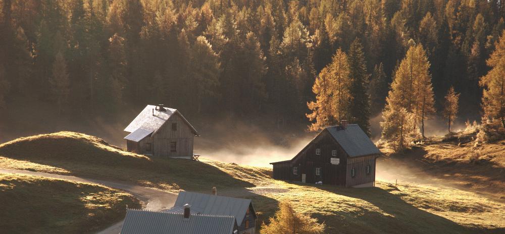 Foto: Alpen im Nebel