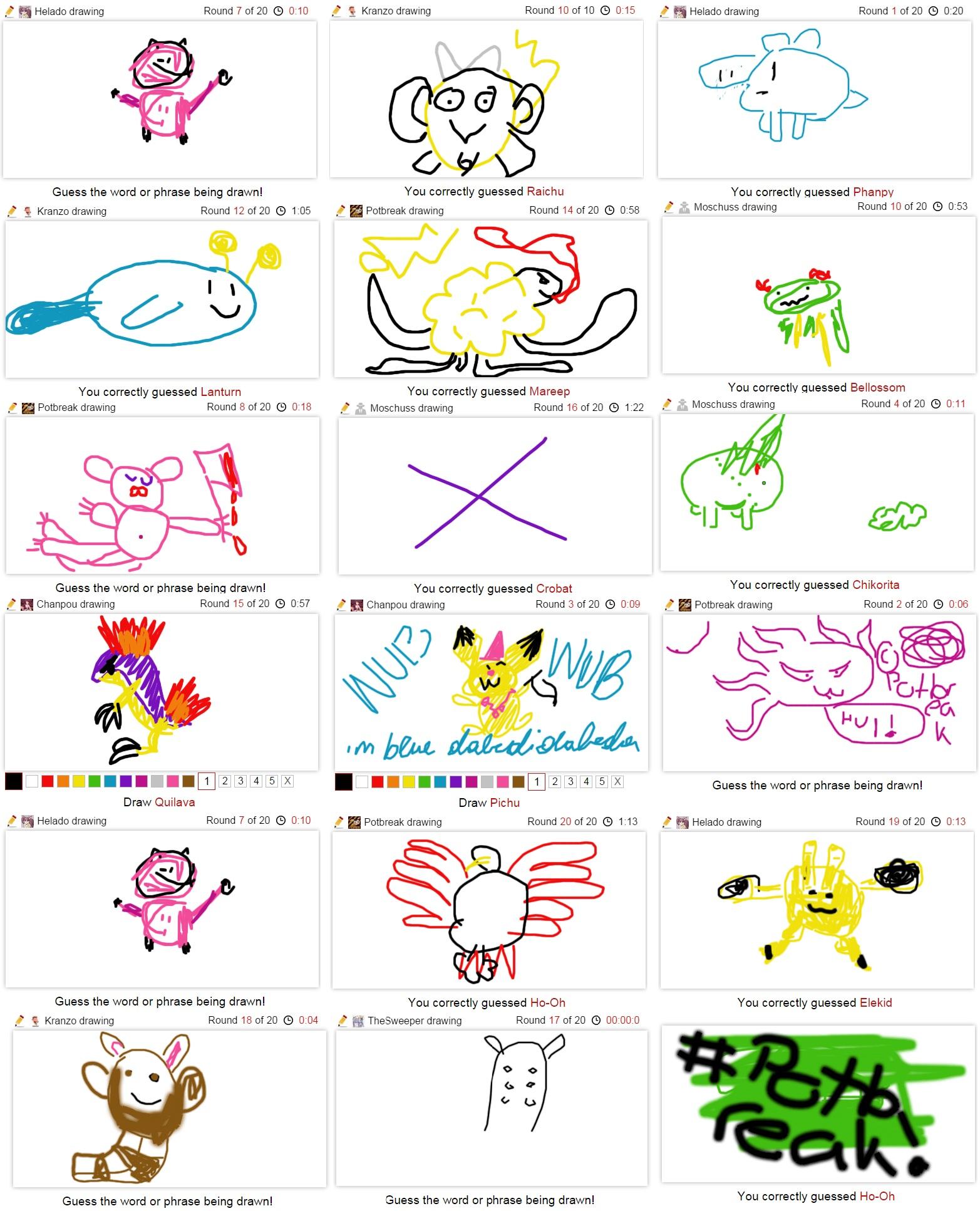 Pokémon-Zeichnung: Das Bild des Jahres