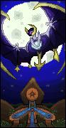 Pokémon-Pixelart: Lunala