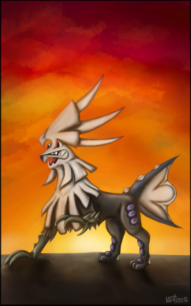 Pokémon-Zeichnung: Amigento