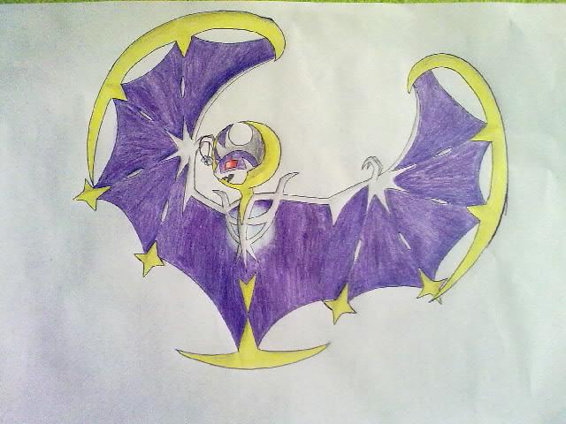 Pokémon-Zeichnung: Lunaala