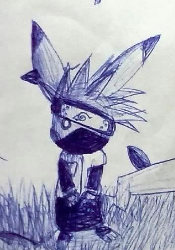Pokémon-Zeichnung: Kakashichu