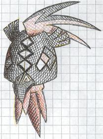 Pokémon-Zeichnung: Schraffur...