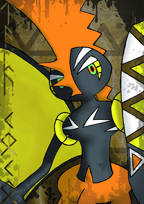 Pokémon-Fanart: Kapu-Riki