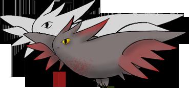 Pokémon-Zeichnung: Togekiss halt