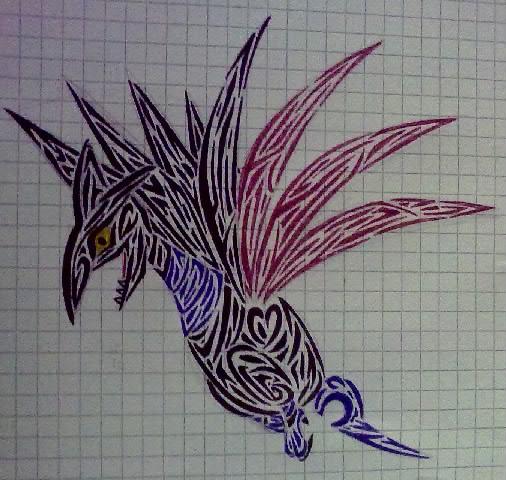 Pokémon-Zeichnung: Irgendwie ein Panzaeron