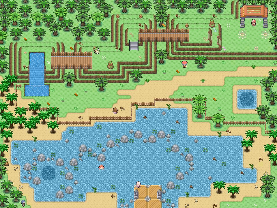 Pokémon-Map: WB: Wunsch-Arena