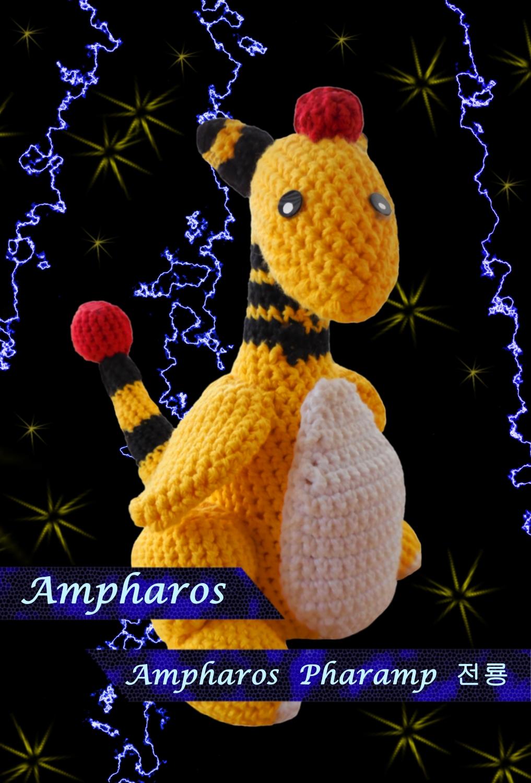 Pokémon-Fanart: Amiibo-Ampharos