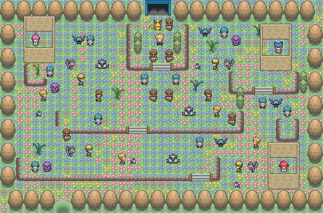 Pokémon-Map: Team Kosmik