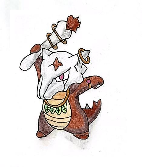 """Pokémon-Zeichnung: """"Alola-Knogga/Challenge21"""""""