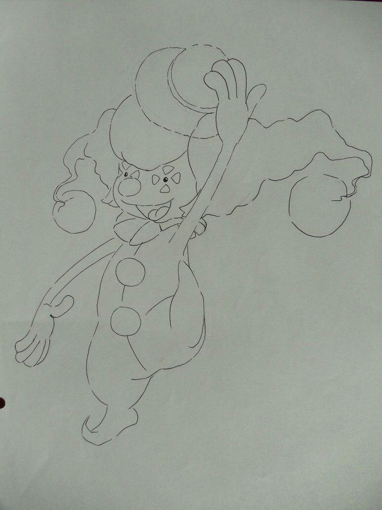Pokémon-Zeichnung: Imitator