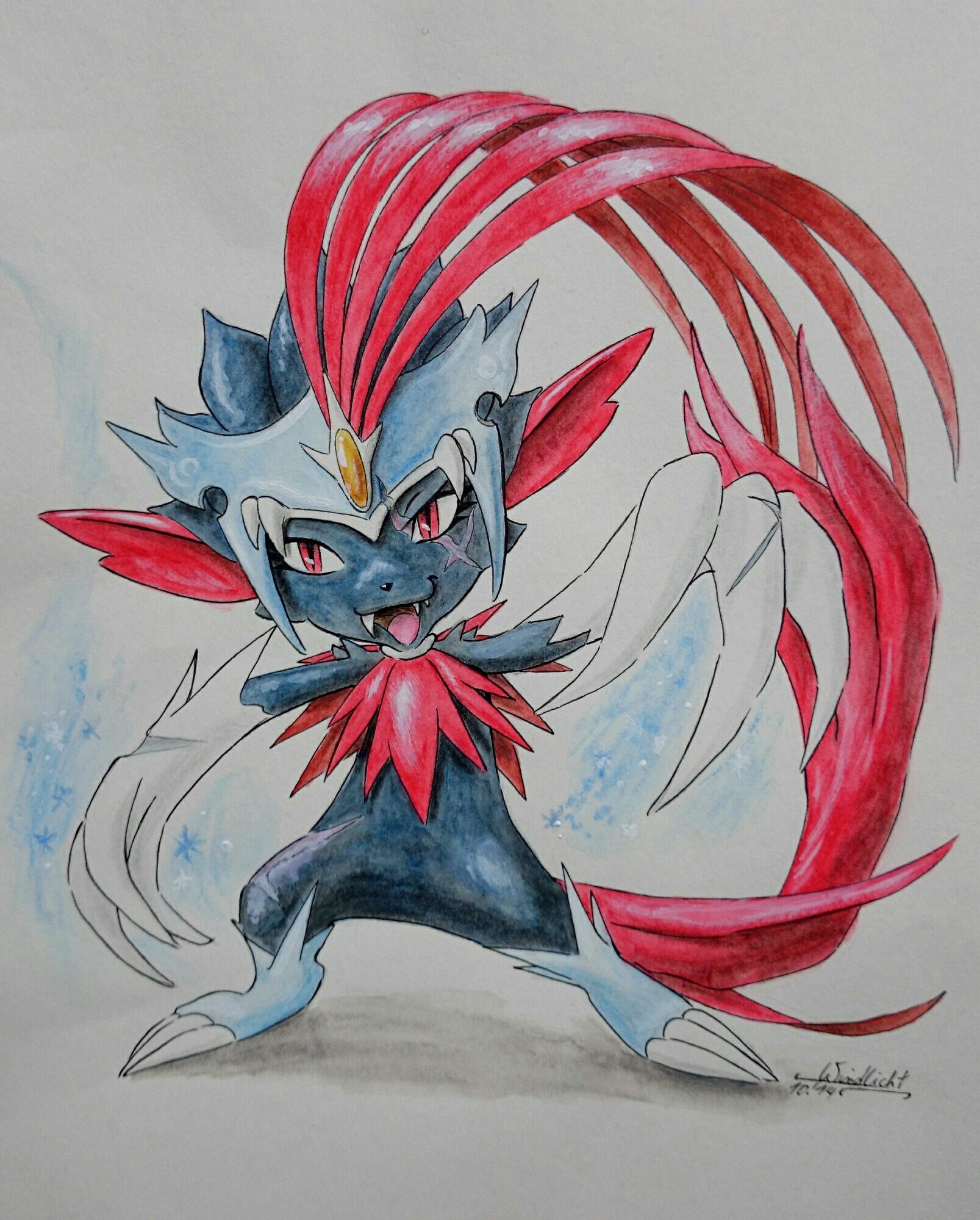 Pokémon-Zeichnung: Mega Snibunna