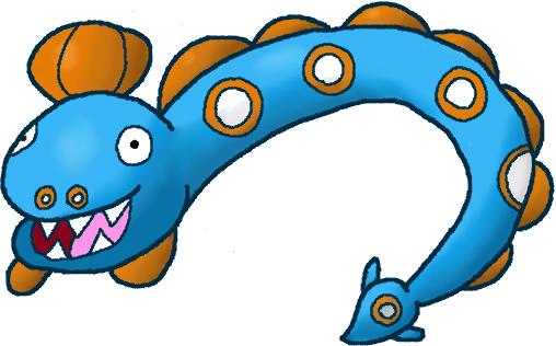 Pokémon-Zeichnung: #367 Aalabyss