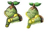 Pokémon-Sprite: Alter Sprite mit neuem Shading