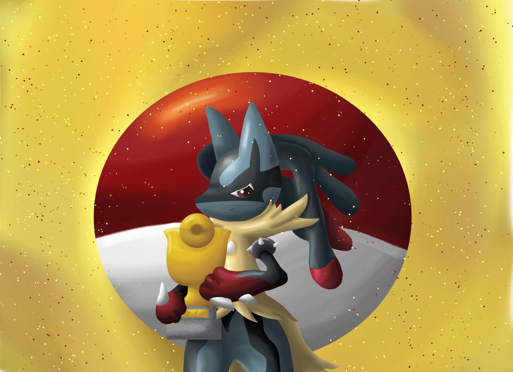 Pokémon-Zeichnung: Siegerehrung