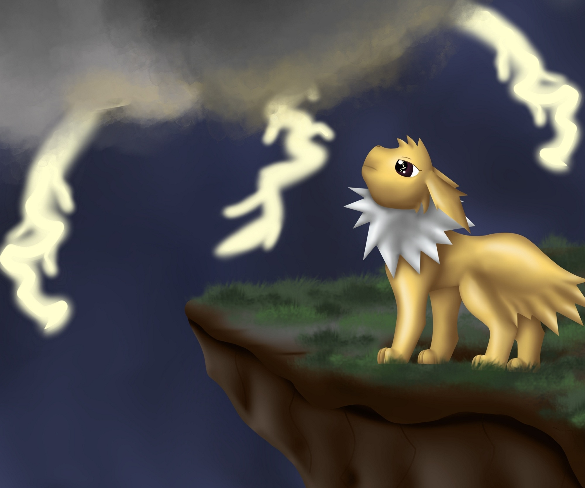 Pokémon-Zeichnung: Blitza