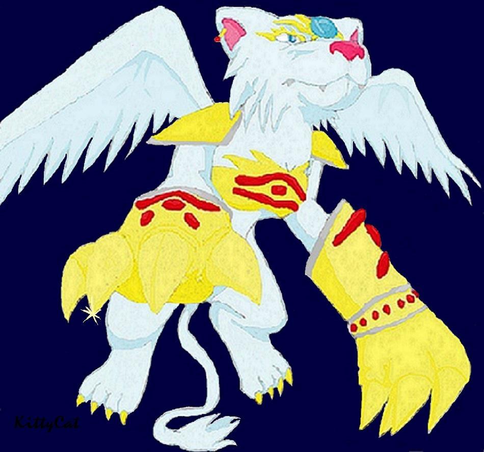 Pokémon-Zeichnung: with Sphinx