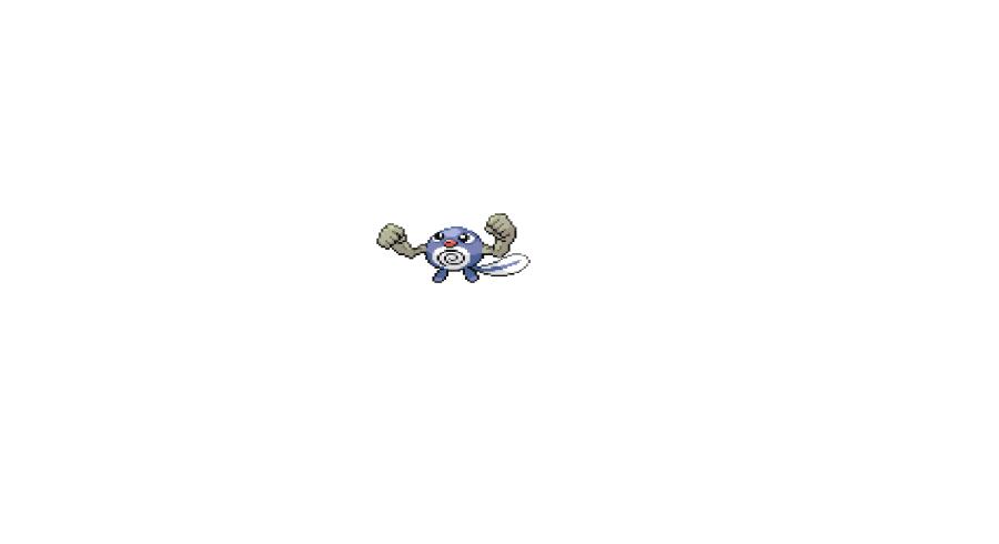 Pokémon-Pixelart: Versuch 2 Kleinstein Quapsel Fusion