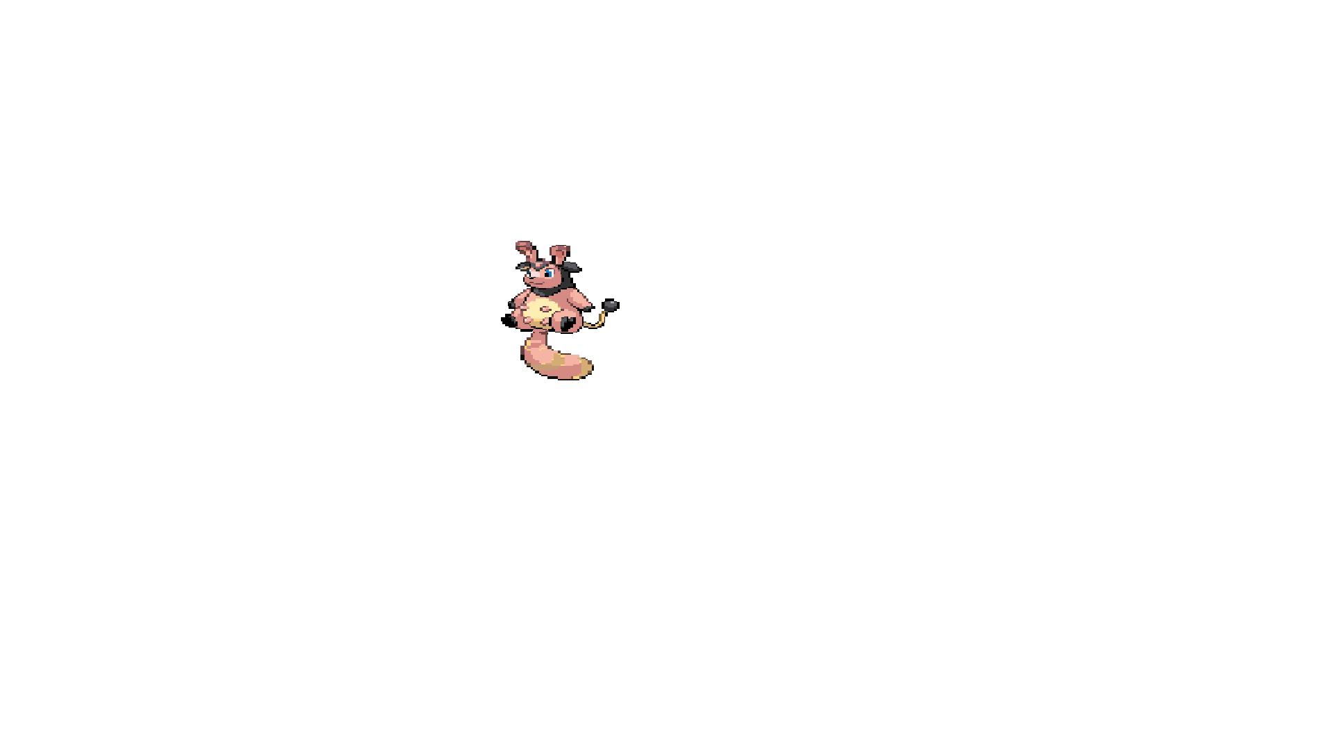 Pokémon-Pixelart: Versuch 3: Miltank und Wiesor