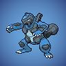 Pokémon-Pixelart: Karippergator