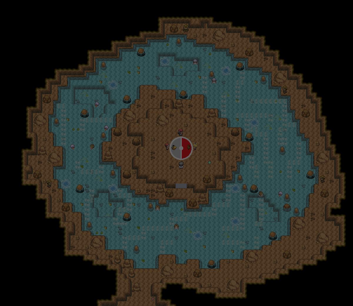 Pokémon-Map: wasser arena