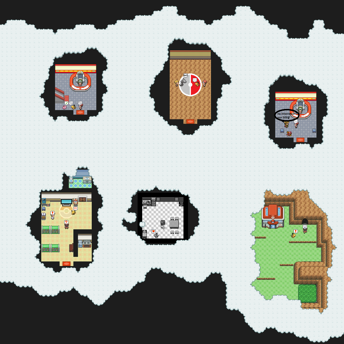 Pokémon-Map: Erinnerung