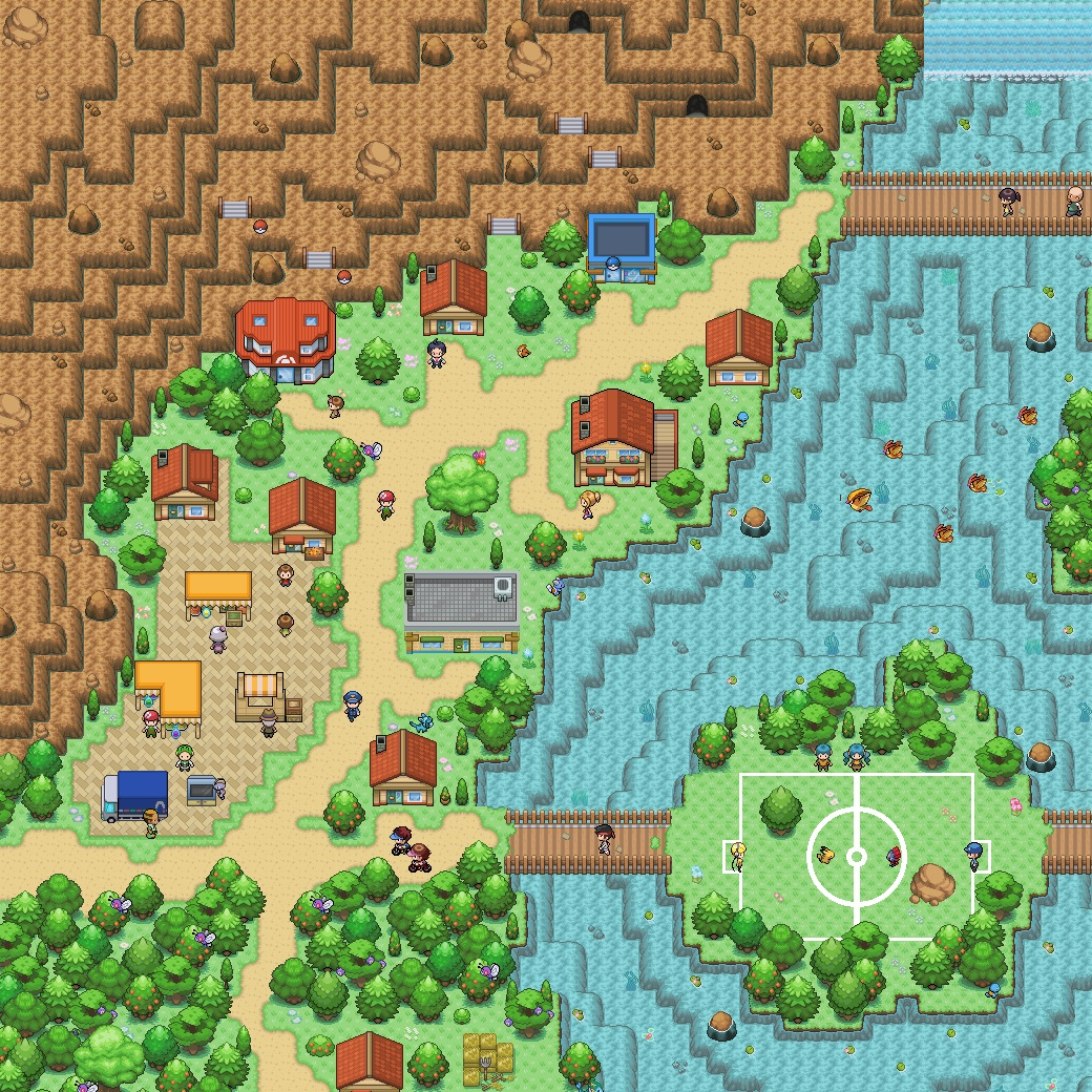 Pokémon-Map: Nach Langer zeit mal wieder eine map