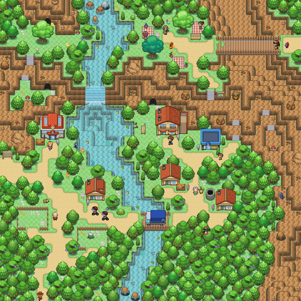 Pokémon-Map: Mini Spiel Map