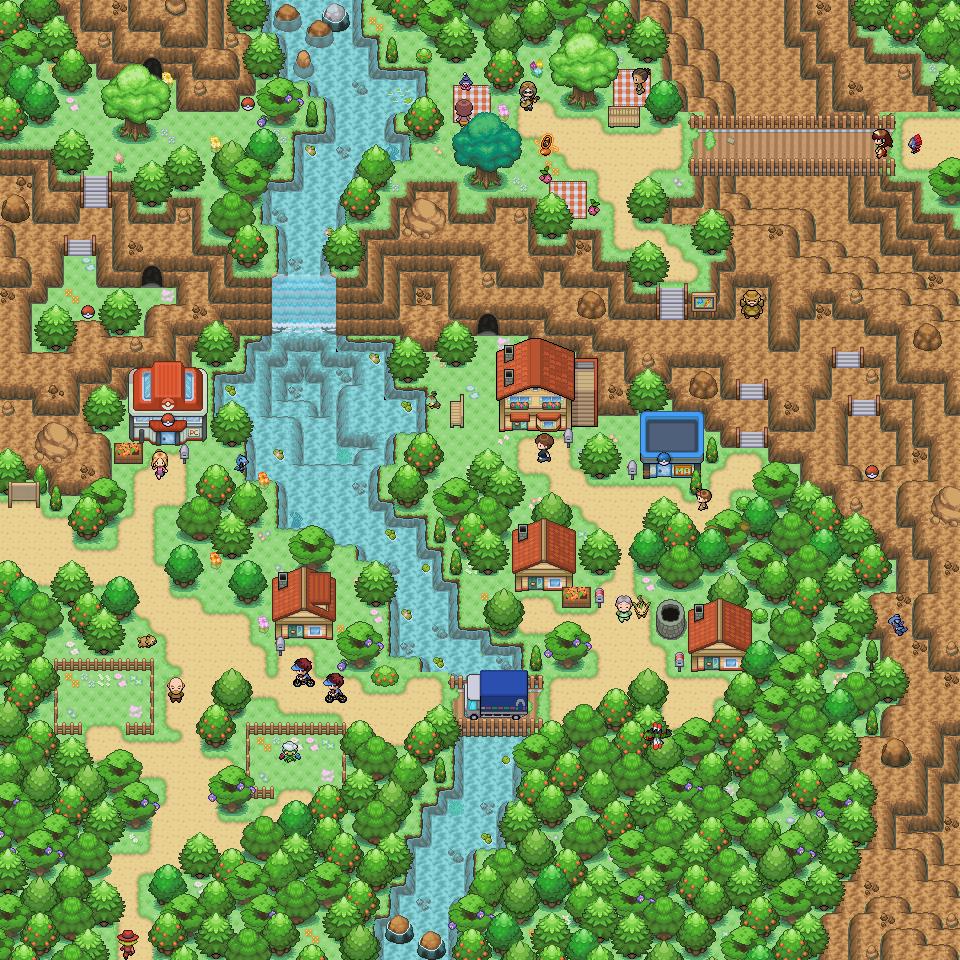 Pokémon-Map: Mini Spiel Map