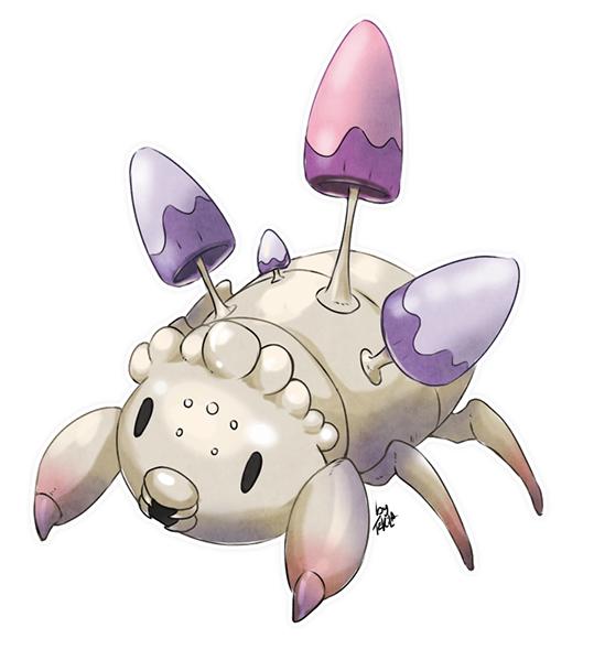Pokémon-Zeichnung: Alola Paras