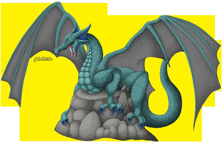 Pokémon-Pixelart: Adurna