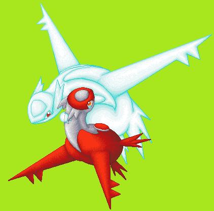 Pokémon-Pixelart: Latios' Death