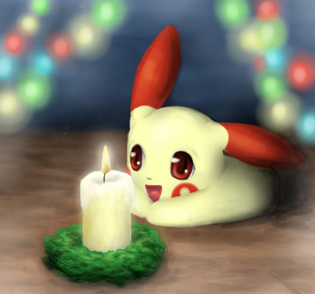 Pokémon-Zeichnung: Die kleinste Freude ist die schönste Freude