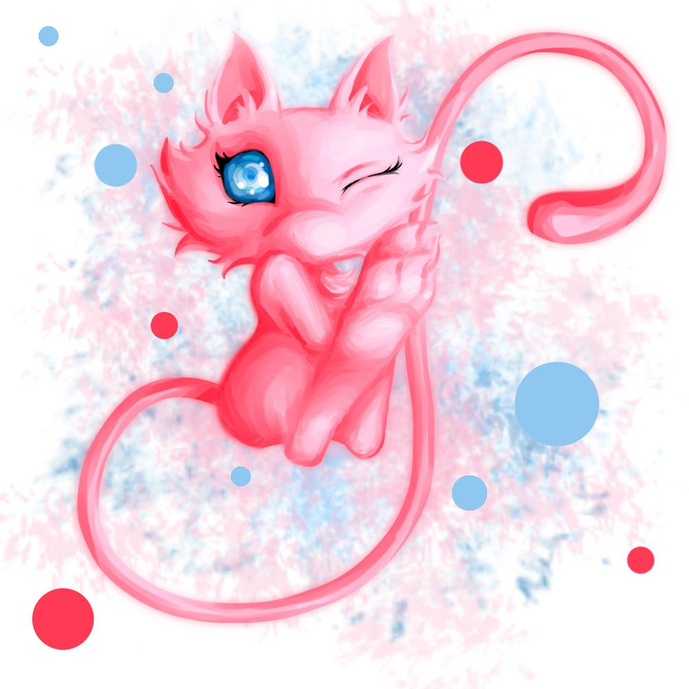 Pokémon-Zeichnung: Meeeeew :3