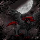 Pokémon-Pixelart: Das Absol aus der Dunkelheit