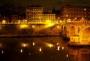 Abend am Tiber