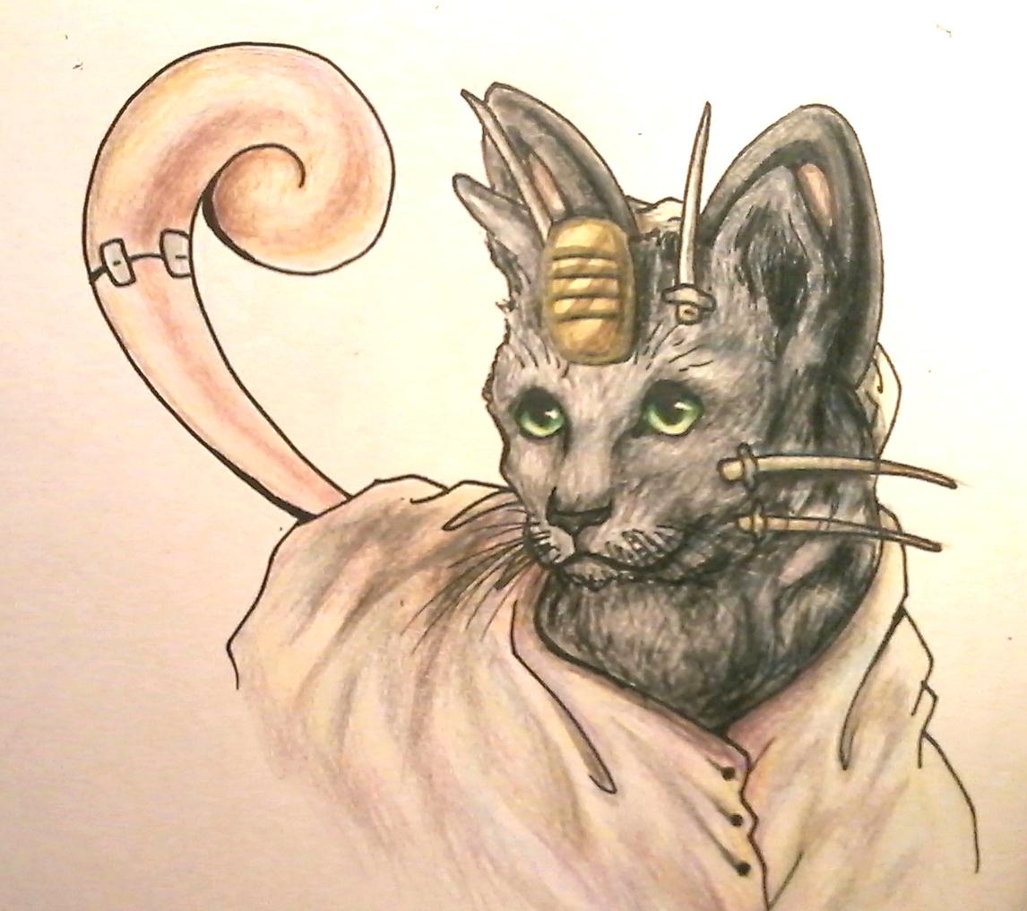 Pokémon-Zeichnung: Meow