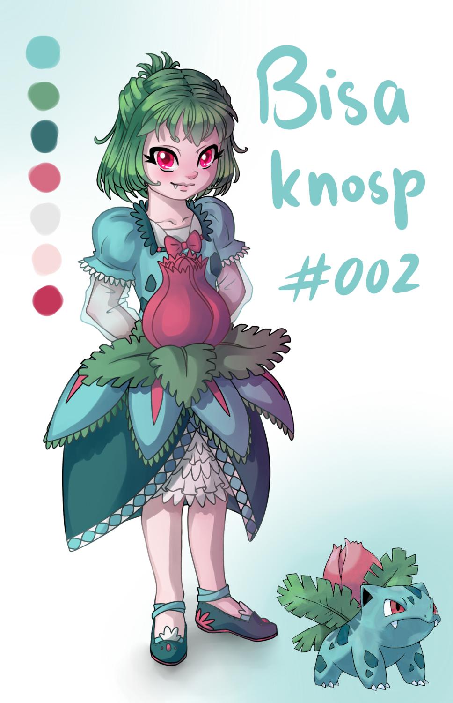 Pokémon-Zeichnung: 002 Bisaknosp